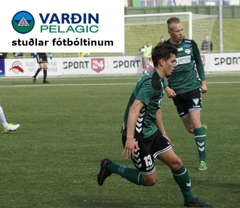 Varðin Pelagic stuðlar fótbóltinum
