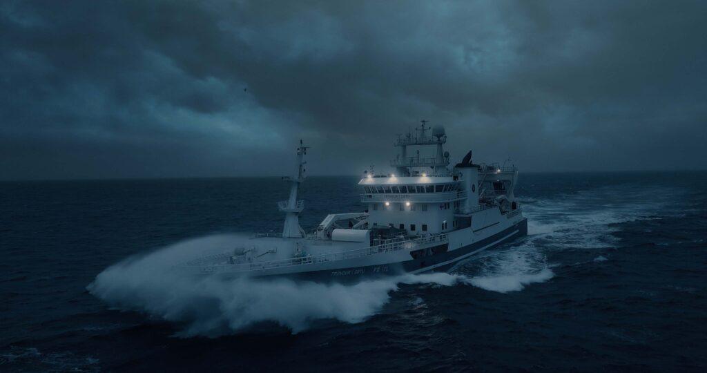 North Atlantic fishing vessel