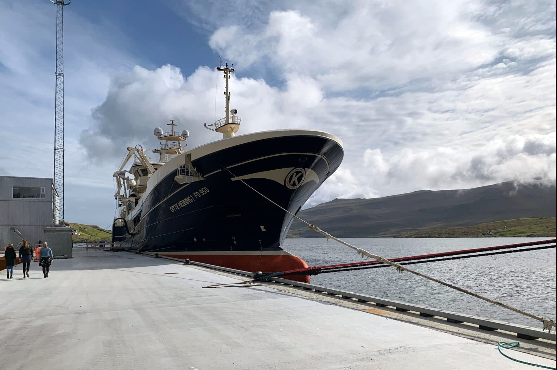 When a state-of-the-art fishing vessel meets the world's most advanced pelagic processing plant